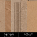 Kraft Paper Pack 4-$2.99 (Amy Teets)