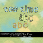 Tee Time Alpha Pack-$2.49 (Laura Burger)