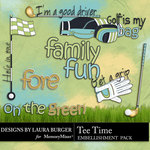 Tee Time WordArt-$1.25 (Laura Burger)