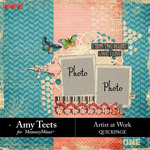 Artist At Work QuickPage-$0.99 (Amy Teets)