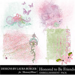 Honored To Be Friends Scatters-$2.49 (Laura Burger)