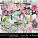 Honored To Be Friends Combo Pack-$4.99 (Laura Burger)