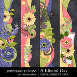 A Blissful Day Borders-$1.25 (Jumpstart Designs)