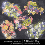 A Blissful Day Scatters-$1.25 (Jumpstart Designs)