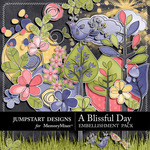 A Blissful Day Embellishment Pack-$1.50 (Jumpstart Designs)
