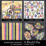 A Blissful Day Add On Combo Pack-$4.99 (Jumpstart Designs)