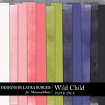 Wild Child LB Solid Paper Pack-$1.40 (Laura Burger)