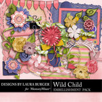 Wild Child LB Add On Embellishment Pack-$1.40 (Laura Burger)