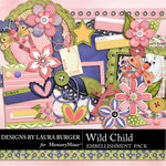 Wild Child LB Embellishment Pack-$1.40 (Laura Burger)