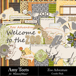 Zoo Adventure Combo Pack-$2.50 (Amy Teets)