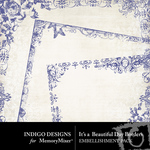 Its A Beautiful Day Borders-$1.99 (Indigo Designs)