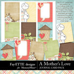 A Mothers Love FE Journal Cards-$2.99 (Ettes and Company by Fayette)