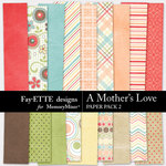 A Mothers Love FE Paper Pack 2-$2.99 (Ettes and Company by Fayette)