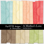 A Mothers Love FE Paper Pack 1-$2.99 (Ettes and Company by Fayette)
