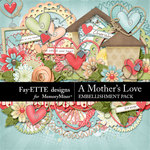 A Mothers Love FE Embellishments-$3.49 (Ettes and Company by Fayette)
