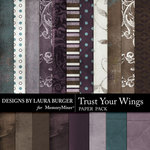 Trust Your Wings Paper Pack-$3.49 (Laura Burger)