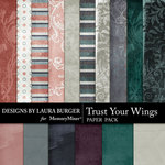 Trust Your Wings Add On Paper Pack-$3.49 (Laura Burger)
