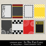 In The Fast Lane Journal Cards-$1.99 (Lindsay Jane)