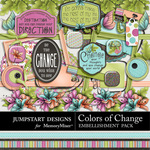 Colors of Change Add On Embellishment Pack-$2.99 (Jumpstart Designs)