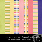 Sweet Lemonade Paper Pack 2-$3.49 (Fly Pixel Studio)