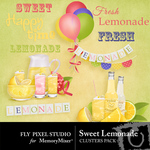 Sweet Lemonade Clusters-$1.99 (Fly Pixel Studio)