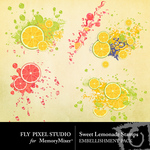 Sweet Lemonade Stamps-$1.99 (Fly Pixel Studio)