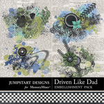 Driven Like Dad Scatters Pack-$1.25 (Jumpstart Designs)