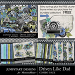 Driven Like Dad Combo Pack-$4.80 (Jumpstart Designs)