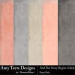 And The Story Begins Solid Paper Pack-$2.99 (Amy Teets)