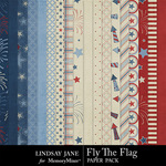 Fly The Flag Paper Pack-$3.49 (Lindsay Jane)