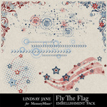Fly The Flag Scatterz-$1.99 (Lindsay Jane)