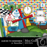Mini Golf Mini Kit-$3.99 (Albums to Remember)
