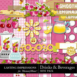Drinks and Smoothies Combo-$2.49 (Lasting Impressions)