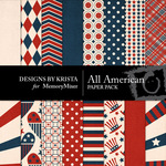 All American DBK Paper Pack-$3.49 (Designs by Krista)