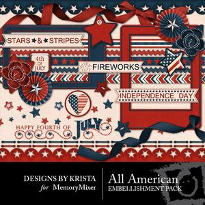 All american embellishment medium