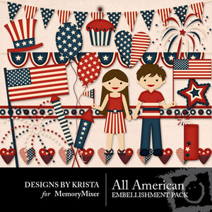 All american embellishment medium
