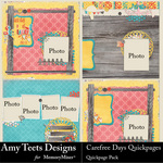 Carefree Day QuickPage-$2.49 (Amy Teets)