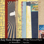 I Pledge Paper Pack-$3.49 (Amy Teets)