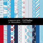 Lil Sailor Paper Pack-$2.10 (Carolyn Kite)