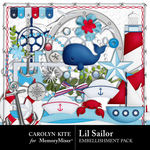 Lil Sailor Embellishment Pack-$3.49 (Carolyn Kite)