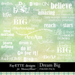 Dream Big Inkers-$2.99 (Fayette Designs)