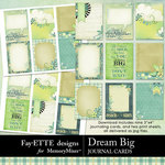 Dream Big Journal Cards-$1.99 (Fayette Designs)