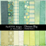 Dream Big Paper Pack 1-$3.99 (Fayette Designs)