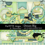Dream Big Embellishment Add On-$2.99 (Fayette Designs)
