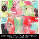 Get Messy Paper Pack-$3.99 (Sweet Poppy Studio)