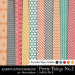 Pretty Things Paper Pack 2-$3.99 (Karen Lewis)