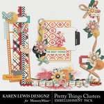 Pretty Things Cluster Pack-$1.99 (Karen Lewis)