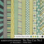 Yes You Can Paper Pack 1-$3.99 (Karen Lewis)