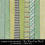 Yes You Can Paper Pack 2-$3.99 (Karen Lewis)