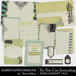 Yes You Can Journaling Pack-$1.99 (Karen Lewis)